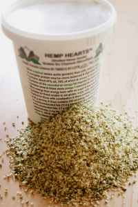 Hemp Hearts High Protein and High Fiber Food image