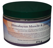 Nature's Artifacts Himalayan Crystal Bath Salts for Muscle and Joint Relief image