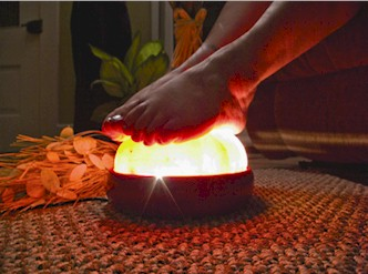 Himalayan Salt Foot Amp Hand Detox Lamp Your Personal Detox