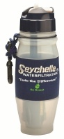 Seychelle Filtered Flip Top Sports and Travel Water Bottle