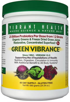 Green Vibrance 10 3 Super Foods Supplement For Vibrant Health
